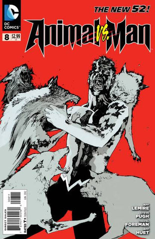 Animal Man (New 52) #08