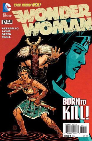 Wonder Woman (New 52) #17