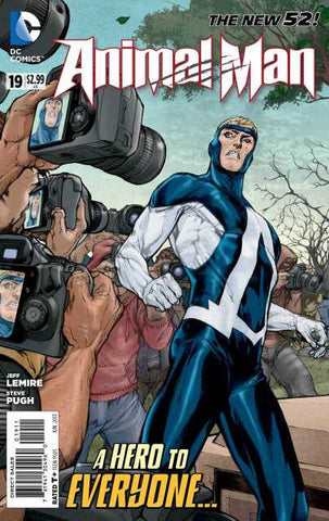 Animal Man (New 52) #19