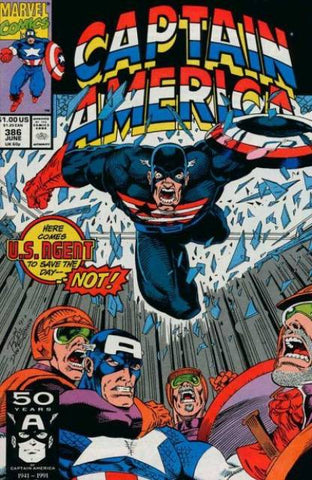 Captain America Vol 1 #386