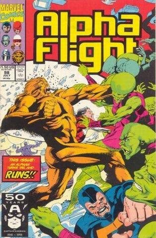 Alpha Flight Vol. 1 #098