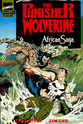 Punisher And Wolverine In African Saga #1