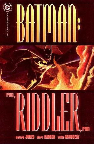 Batman: Run, Riddler, Run #1