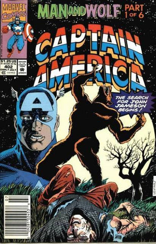 Captain America Vol 1 #402