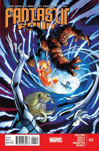 Fantastic Four Vol 4 #11
