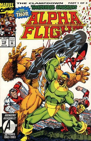 Alpha Flight Vol. 1 #118