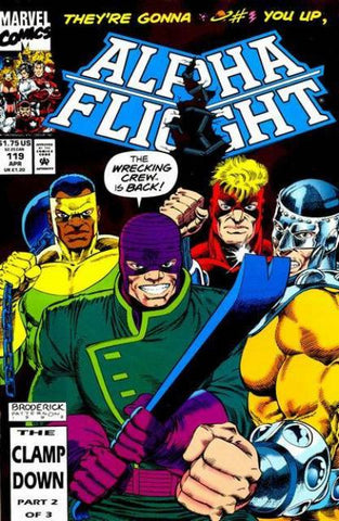 Alpha Flight Vol. 1 #119