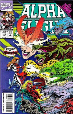 Alpha Flight Vol. 1 #123