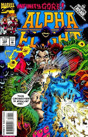 Alpha Flight Vol. 1 #124