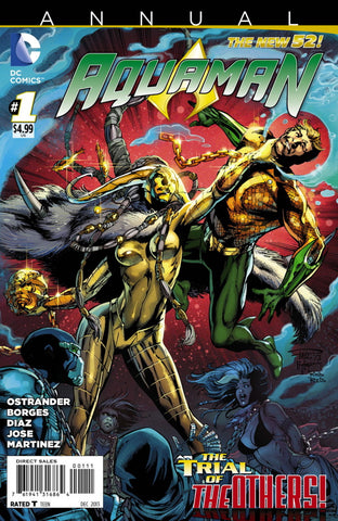 Aquaman (New 52) Annual #1