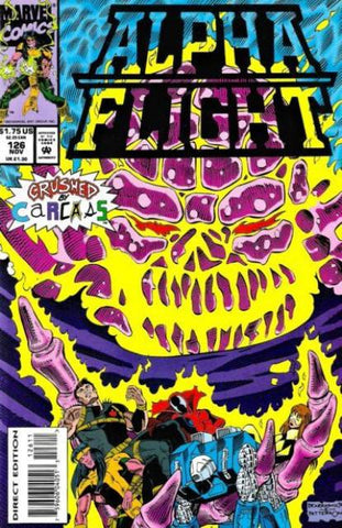 Alpha Flight Vol. 1 #126