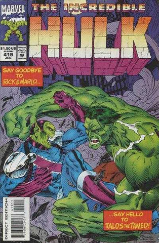 Incredible Hulk Vol 1 #419