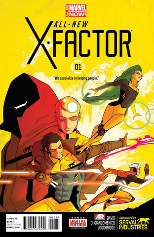 All New X-Factor Vol. 1 #01