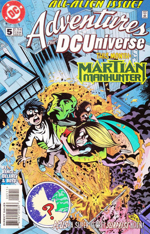 Adventures In The DC Universe #05
