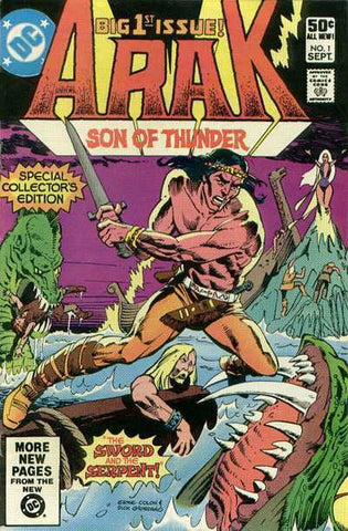 Arak, Son Of Thunder #01