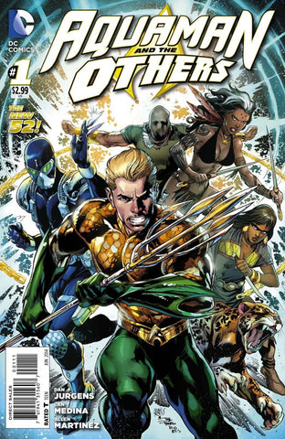 Aquaman And The Others (New 52) #01