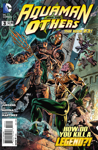 Aquaman And The Others (New 52) #03