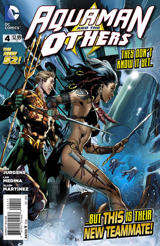 Aquaman And The Others (New 52) #04