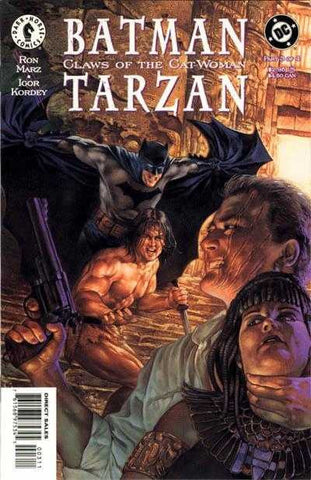 Batman/Tarzan: Claws Of The Cat-Woman #3