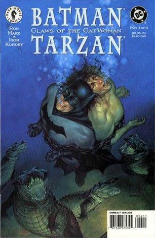 Batman/Tarzan: Claws Of The Cat-Woman #4