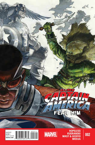 All-New Captain America: Fear Him #2