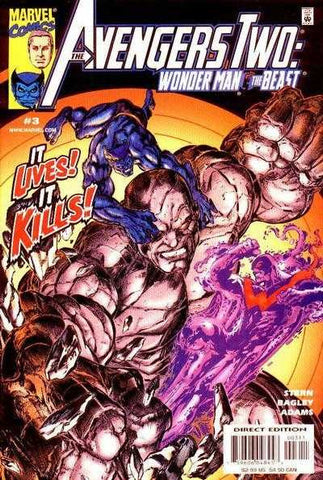 Avengers Two: Wonder Man And Beast #3