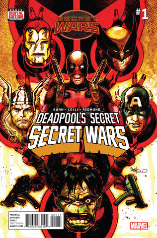 Deadpool's Secret Secret War #1