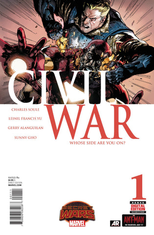 Civil War Vol 2 #1