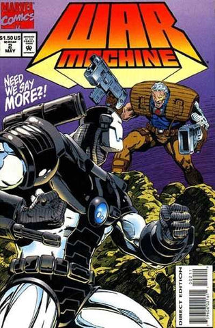 War Machine Vol. 1 #02