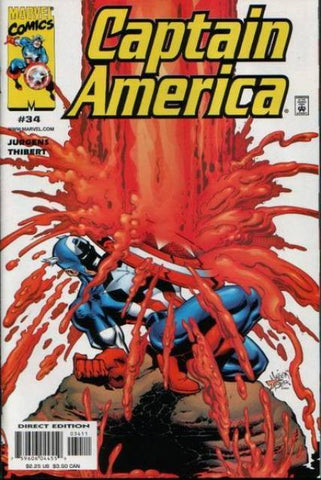 Captain America Vol 3 #34