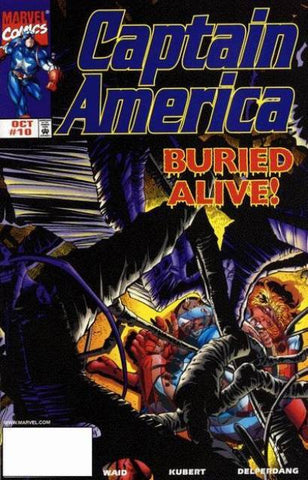 Captain America Vol 3 #10