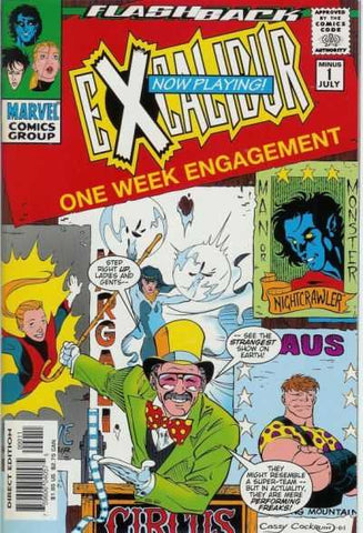 Excalibur Vol 1 #-1