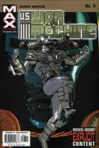 U.S. War Machine Vol. 1 #08