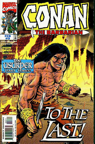 Conan The Barbarian: The Usurper #3