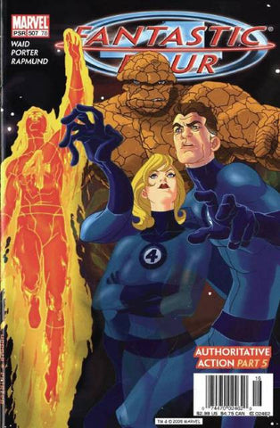 Fantastic Four Vol 3 #507