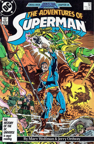 Adventures Of Superman Vol. 1 #426