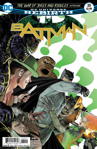 Batman Vol. 3 (Rebirth) #30
