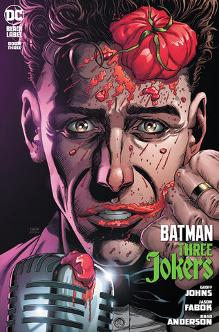 BATMAN THREE JOKERS #3 (OF 3) PREMIUM VARIANT H STAND-UP COMEDIAN