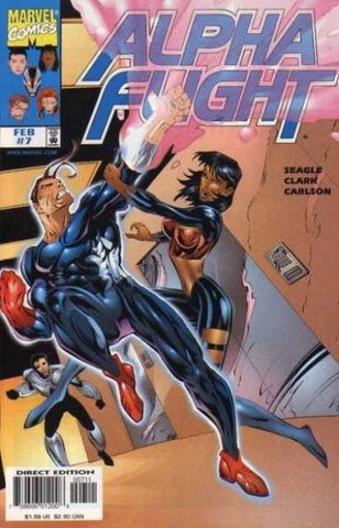 Alpha Flight Vol. 2 #07