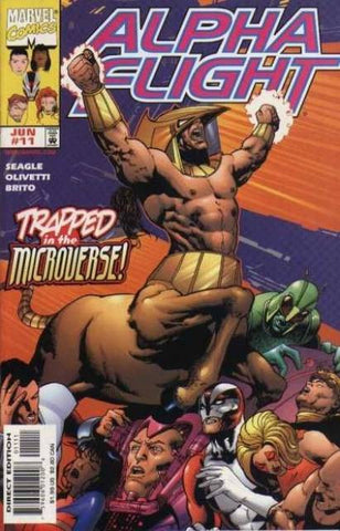 Alpha Flight Vol. 2 #11