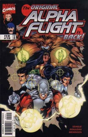 Alpha Flight Vol. 2 #19