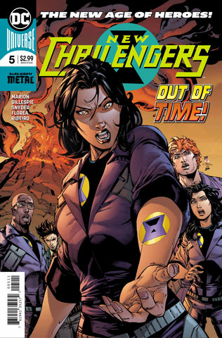 New Challengers (DC Universe) #5