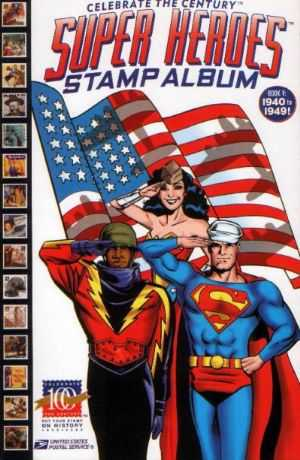 Celebrate The Century Super Heroes Stamp Album #05