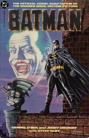 Batman: The Official Comic Adaptation Of The Warner Brothers Motion Picture #1