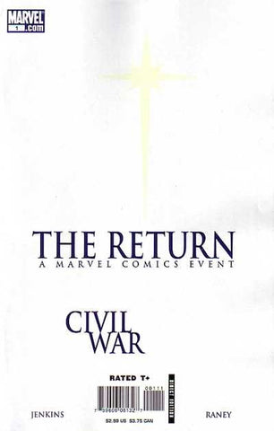 Civil War: The Return #1