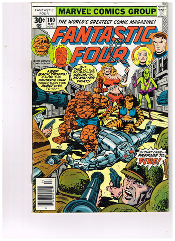 Fantastic Four Vol 1 #180