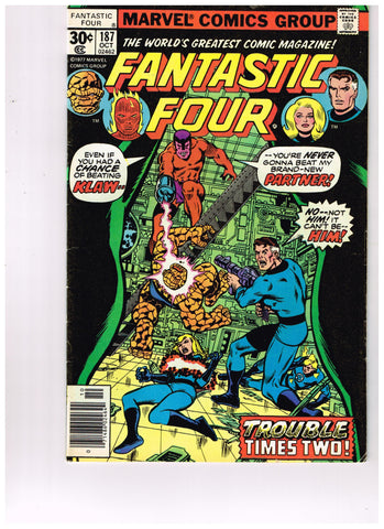 Fantastic Four Vol 1 #187
