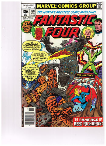 Fantastic Four Vol 1 #188