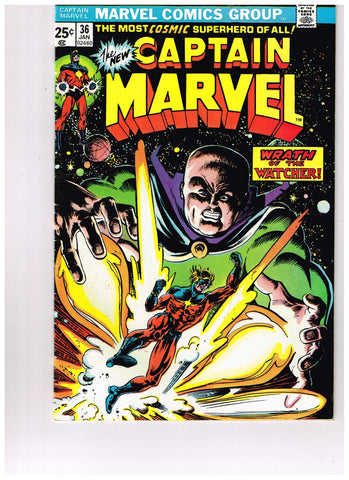 Captain Marvel Vol 1 #36