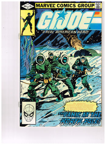 G.I. Joe: A Real American Hero #002